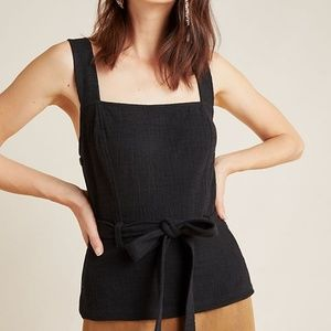 Anthropologie Bella Structured Tank by Current Air